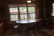 cabin #7 dining room