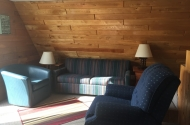 cabin #1 living room